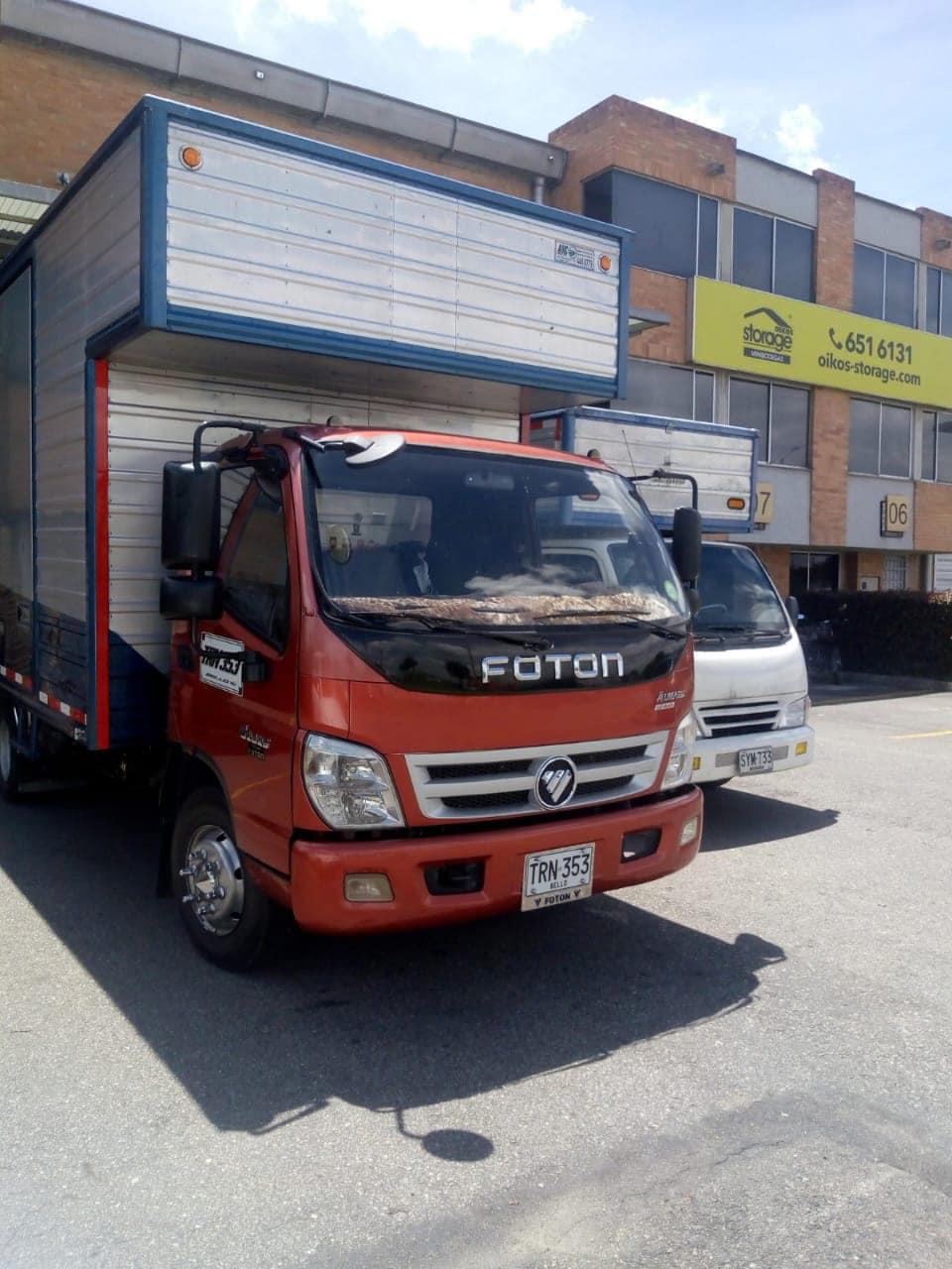Camión Mudanza